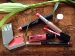 Spring and Summer Lip Colors in Green Beauty Plus How to Wear Coral Lippies (Kjaer Weis, Jane Iredale, Antonym, Armour)