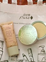 The Best BB Cream and Setting Powder! Review (100 PERCENT PURE)